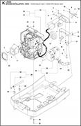 Запчасти для установки двигателя LP 6505 HATZ