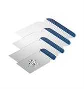 Шпатели японские Profi  набор нержавеющая сталь 4 ширины (5,8,10,12см)