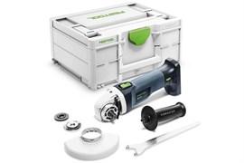 Акк. углошлифовальная машина AGC 18-125 Li EB-Basic+ Аккумулятор Festool