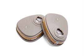 Фильтр противогазовый Jeta Safety для защиты от органических и кислых газов класса AЕ1