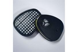 Фильтр противогазовый Jeta Safety для защиты от органических, неорганических, кислых газов и аммиака класса AВЕK1