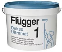 Краска Flugger Dekso Ultramat 1 base1 P14 9,1л.