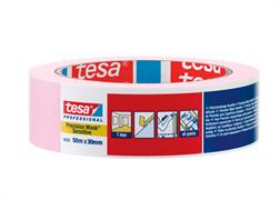 Лента малярная для деликатных поверхностей Розовая (14дн) Tesa