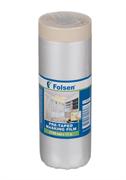 Укрывная пленка с малярной лентой Folsen 5д