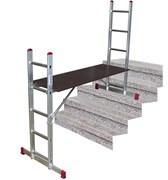 Подмости лестничные Krause универсальная линия 2х5