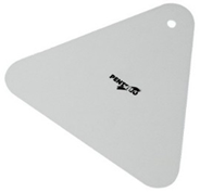 Шпатель пластиковый треугольный 180 мм Pentrilo