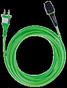 Кабель Plug It 7,5м H05 BQ-F/7,5 зеленый +
