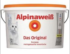 Краска водно-дисперсионная AlpinaWeiss 2.5л