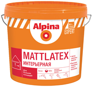 Краска водно-дисперсионная Alpina EXPERT Mattlatex база 1