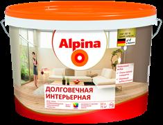 Краска водно-дисперсионная Alpina долговечная интерьерная 3 база
