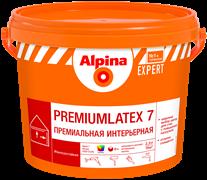 Краска водно-дисперсионная Alpina EXPERT Premiumlatex 7, 3 база