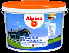 Краска водно-дисперсионная Alpina долговечная для деревянных фасадов