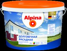 Краска водно-дисперсионная Alpina долговечная фасадная 3 база