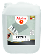 Грунтовка для наружных и внутренних работ Alpina грунт