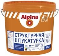 Штукатурка декоративная на полимерной основе Alpina EXPERT Strukturputz R30 короед 16кг