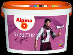 Покрытие декоративное Alpina Effekt Structur 10 л