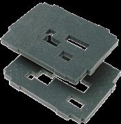 Комплект вкладышей из губки, 2 слоя SYS-VARI RM