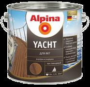 Лак алкидно-уретановый Alpina Yacht GL для яхт глянцевый не колеруемый