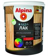 Лак акриловый Alpina Аква лак для стен и потолков глянцевый колеруемый