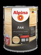 Лак акриловый Alpina Аква лак для деревянных полов глянцевый