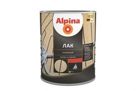 Лак алкидно-уретановый Alpina палубный шелковисто-матовый
