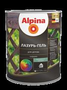 Антисептик лессирующий Alpina Лазурь-гель для дерева шелковисто-матовый 2,5 л