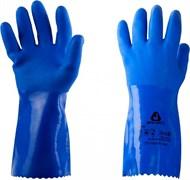 Перчатки хлопчатобумажные трикотажные с покрытием из ПВХ JP711