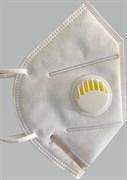 Респиратор складной с клапаном выдоха  KN95 (FFP2)