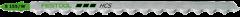 Пилка для лобзика S 155/W 3шт. Festool