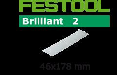 Шлифлист 46х178мм/0 STF P180 Brilliant2 10шт.