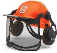 Шлем защитный Functional флуоресцентный 6шт. в упаковке Husqvarna