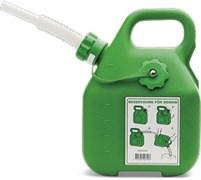 Канистра для бензина 6л Husqvarna зеленая