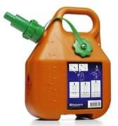 Канистра для бензина 6л Husqvarna оранжевая