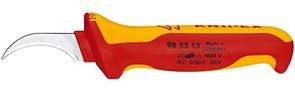 Нож для снятия изоляци 180мм 1000V Knipex