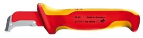 Нож c пяткой для снятия изоляции 9855 1000V Knipex