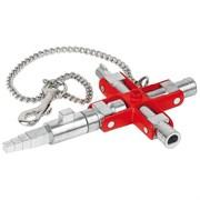 Ключ для электрошкафов универсальный Knipex